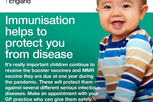 Immunisation helps to protect you from diseases
