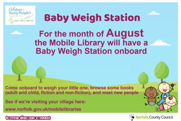 Baby Weigh Station